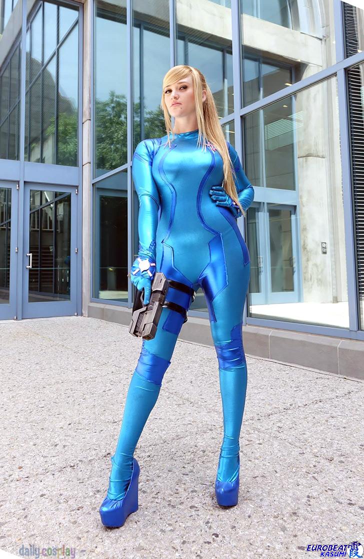 Samus Aran From Metroid Daily Cosplay Com