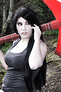 Marceline from Adventure Time