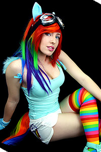 Rainbow Dash from My Little Pony: Friendship is Magic