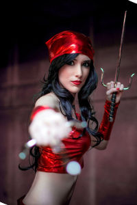 Elektra from Marvel Comics