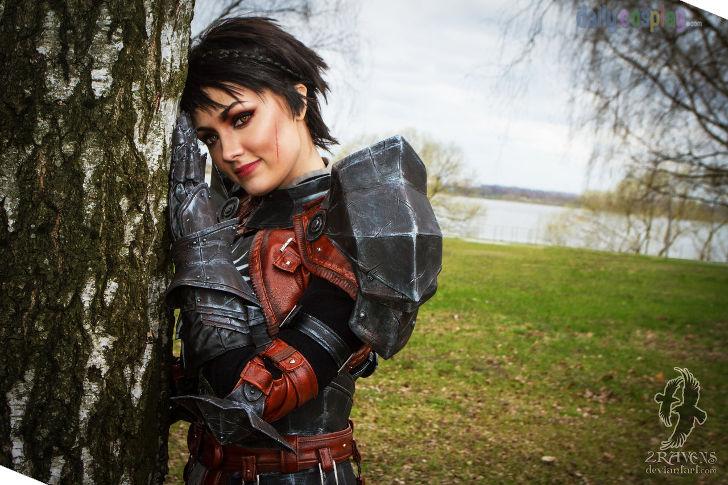 Cassandra Pentaghast From Dragon Age II