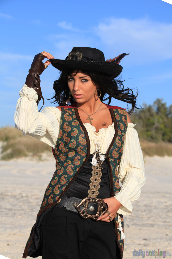 Caribbean Angelica pirates of the