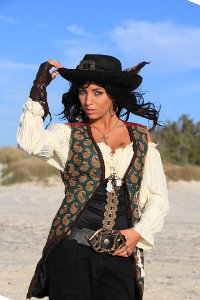 Angelica Teach from Pirates of the Caribbean