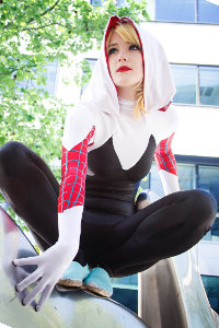 Spider Gwen from Spider-Man