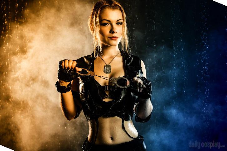 Sonya Blade from Mortal Kombat 9 - Daily Cosplay .com