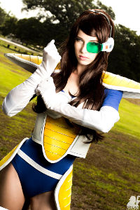 Female Vegeta from Dragon Ball Z