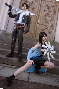 Rinoa & Squall from Final Fantasy VIII