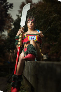 Seung Mina from Soulcalibur III