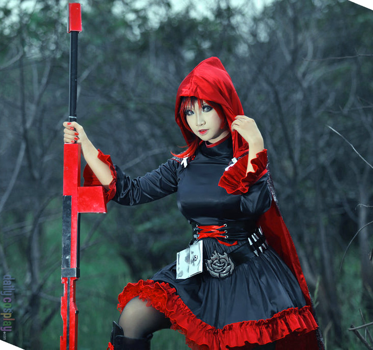 Ruby Rose From Rwby Daily Cosplay Com