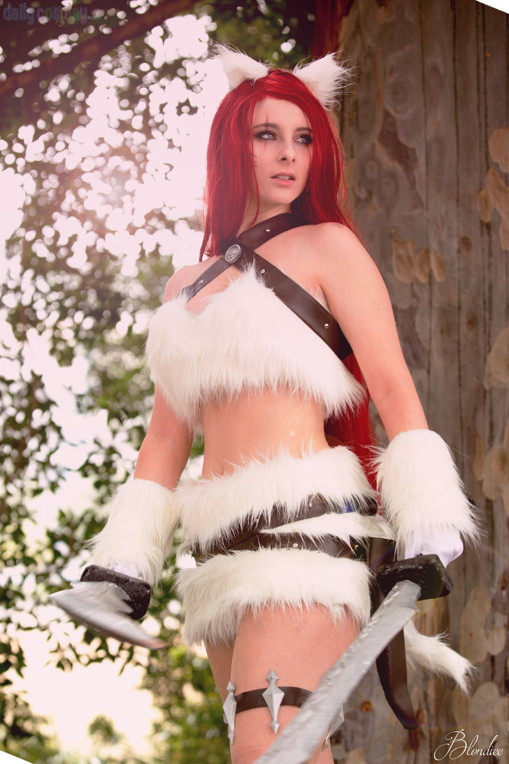Kitty Cat Katarina from League of Legends  sc 1 st  Daily Cosplay .com & Kitty Cat Katarina from League of Legends - Daily Cosplay .com