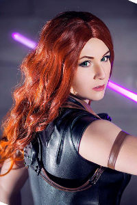 Mara Jade from Star Wars
