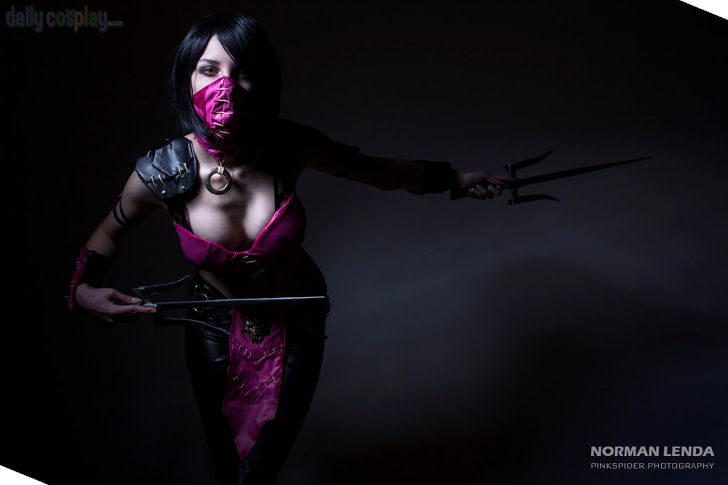 Mileena from Mortal Kombat X - Daily Cosplay .com