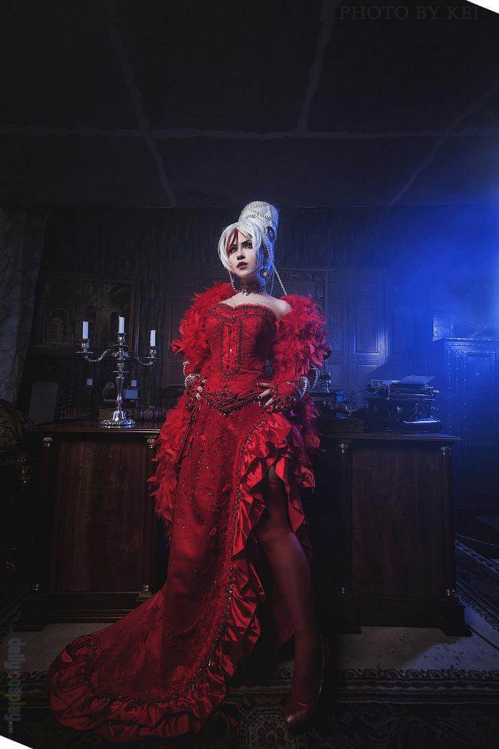 Astharoshe asran red dress