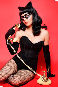 Rockabilly Catwoman from DC Comics