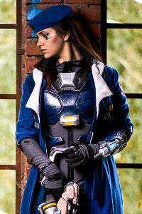 Captain Ana Amari from Overwatch