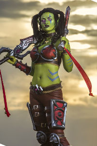 Garona Halforcen from World of Warcraft