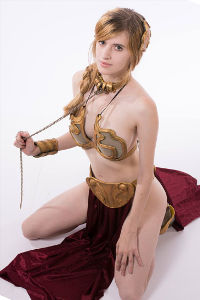 Slave Leia from Return of the Jedi