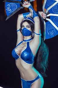 Kitana from Mortal Kombat IX