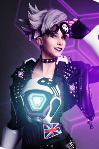 Tracer Ultraviolet from Overwatch