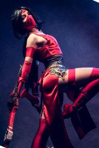 Crimson Akali from League of Legends