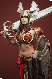 Valkyrie Leona from League of Legends