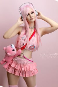 Super Sonico from Super Sonico