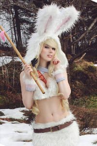 Cottontail Teemo from League of Legends