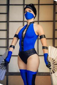 Kitana from Mortal Kombat