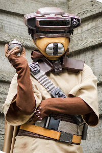 Boushh from Star Wars: Return of the Jedi