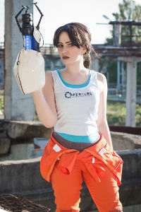 Chell from Portal 2