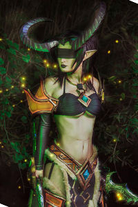 Demon Hunter Valeera from World of Warcraft