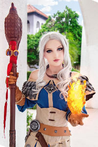 Female Khadgar from World of Warcraft