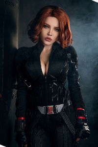Black Widow Natasha Romanoff from Marvel Comics