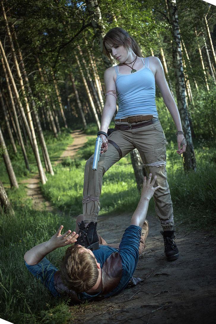 Lara Croft from Tomb Raider cosplay by Tina Rybakova #