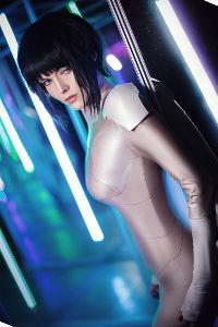 Motoko Kusanagi from Ghost in the Shell